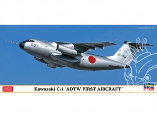 Hasegawa maquette avion 10838 Kawasaki C-1 Première unité de l'équipe d'expérimentation de développement de vol 1/200