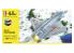 HELLER maquette avion 56309 STARTER KIT Ja-37 Jaktviggen 1/72