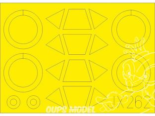 Eduard Express Mask JX262 PT-17 / N2S-3 Icm 1/32