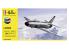 Heller maquette avion 56343 STARTER KIT Saab Lansen A/S 32 ensemble complet 1/72