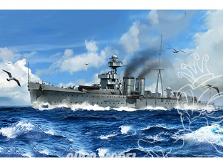 Trumpeter maquette bateau 05362 HMS Calcutta croiseur BRITANNIQUE 1/350