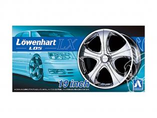 """Aoshima maquette voiture 055304 Lowenhart LD5 LX 19"""" et pneus 1/24"""
