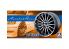 "Aoshima maquette voiture 052274 Jantes Amistad Rotino 19"" et pneus 1/24"