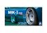 """Aoshima maquette voiture 054383 Jantes MK-I (5H) 14"""" et pneus 1/24"""