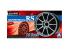 """Aoshima maquette voiture 053782 Jantes ADVAN RACING RS 19"""" et pneus 1/24"""