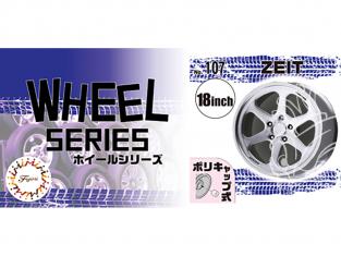 """Fujimi maquette voiture 193670 Jantes W107 ZEIT 18"""" et pneus 1/24"""