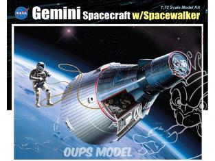 Dragon espace 11013 Capsule Gemini et Astronaute 1/72