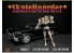 American Diorama figurine AD-38340 Skateboarder Figure I 1/24