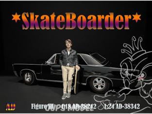 American Diorama figurine AD-38342 Skateboarder Figure III 1/24