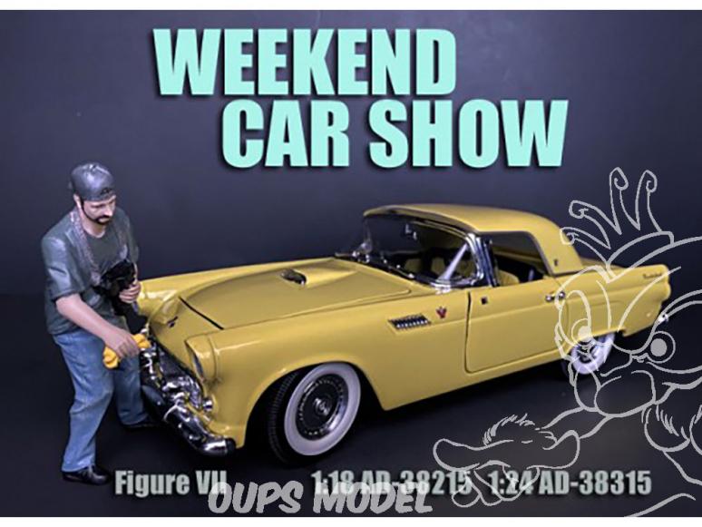 American Diorama figurine AD-38315 Weekend Car Show figurine VII 1/24