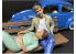 American Diorama figurine AD-38330 Amoureux assis homme figurine I 1/24