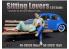 American Diorama figurine AD-38331 Amoureux assis femme figurine II 1/24