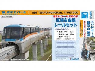 Fujimi maquette train 910031 Tokyo Monorail type 10000 1/150