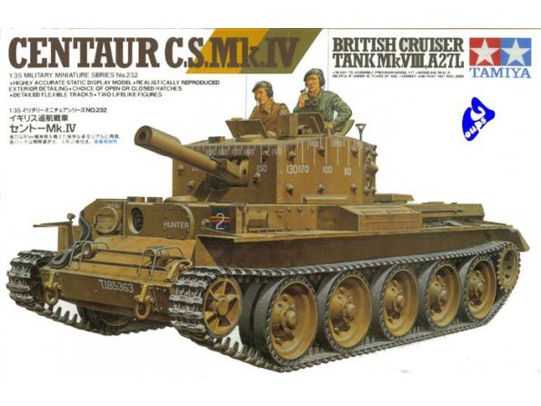 tamiya maquette militaire 35232 centaur 1/35