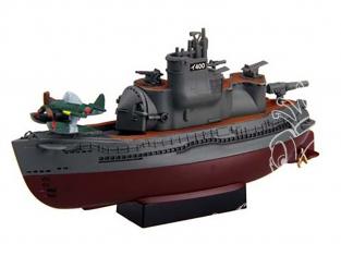 Fujimi maquette plastique sous marin 422978 Flotte de Chibimaru I400 edition spéciale tiré de la bande dessiné
