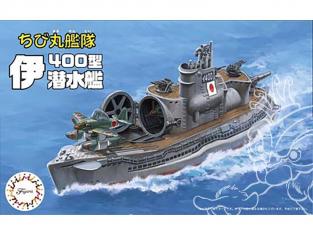 Fujimi maquette plastique sous marin 421995 Flotte de Chibimaru I400 tiré de la bande dessiné