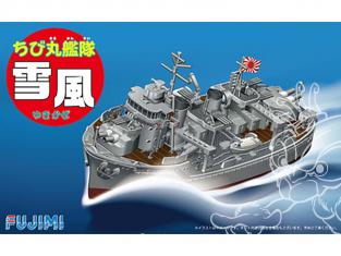 Fujimi maquette plastique bateau 421735 Flotte de Chibimaru destroyer Yukikaze tiré de la bande dessiné