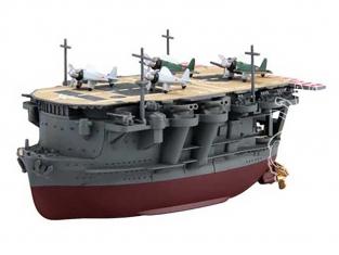 Fujimi maquette plastique bateau 422961 porte avion japonais Ryujo special edition tiré de la bande dessiné Chibimaru