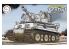 Fujimi maquette militaire 763170 Char Tiger I Spécifications du front de l'Est Cartoon