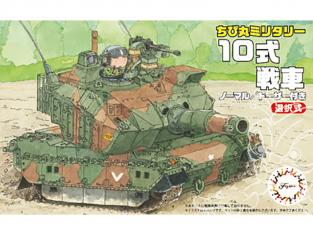 Fujimi maquette militaire 763156 Char Type 10 Cartoon