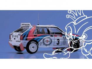 HASEGAWA maquette voiture 25015 Lancia super delta WRC 1/24