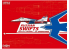 """Great Wal Hobby maquette avion S4814 Russian Swifts MiG-29 9-13 """"Fullcrum C"""" Edition limitée 1/48"""