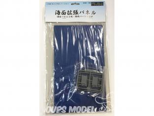 Fujimi maquette bateau 401331 Panneau d'extension de plaque de mer 1/3000