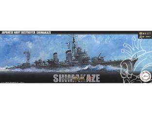 Fujimi maquette bateau 460468 Destroyer de la marine japonaise Shimakaze Dernière fois 1945 1/350