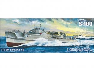 Aoshima maquette bateau 56592 S-Boat S-100 1/350