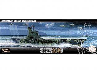 Fujimi maquette bateau 460550 Porte-avions de la marine japonaise Shinano 1/700
