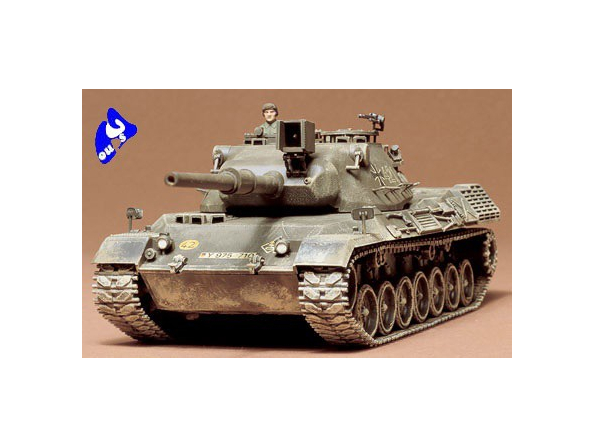 tamiya maquette militaire 35064 leopard 1/35