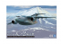 Aoshima maquette avion 055083 J.A.S.D.F Transporter C-2 1/144