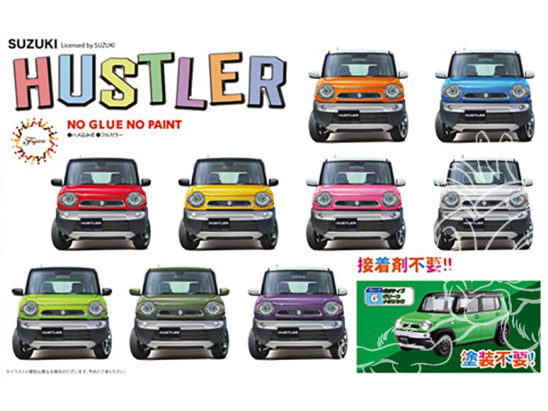 Fujimi maquette voiture 066226 Suzuki Hustler Vert SNAP 1/24