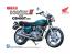 Aoshima maquette moto 053324 HONDA HAWK2 CB400T 1/12