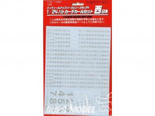 Fujimi maquette voiture 112367 Décalques pour voiture de patrouille japonaise 1/24