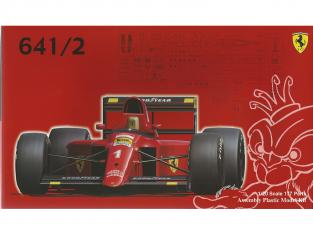 Fujimi maquette voiture 092140 Ferrari F1 641/2 1/20