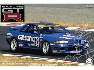 Fujimi maquette voiture 141848 Skyline GT-R Gr.A Calsonic '92 (BNR32) 1/12