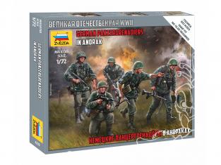 Zvezda maquette militaire 6270 Panzergrenadiers allemands en anorak 1/72