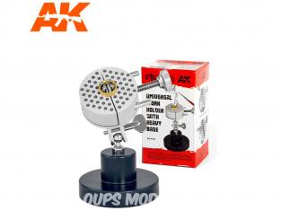 AK Interactive accessoire AK9165 Support de travail universel avec base lourde