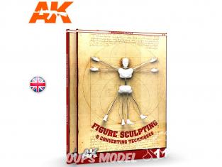 Ak Interactive livre Learning Series 11 AK512 Figurines : Techniques de sculpture et de conversion en Anglais