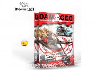 ABTEILUNG502 magazine 737 Damaged Numéro 10 Attention - Zone de travail chaude en Espagnol