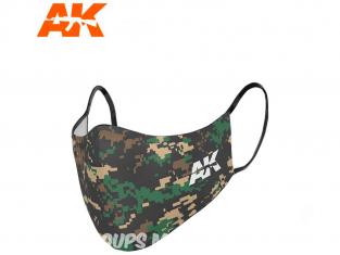 Ak Interactive AK9158 Masque camouflage classique 03 réutilisable