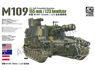 Afv Club maquette militaire 35329 US M109 155 mm HOWITZER L23 1/35