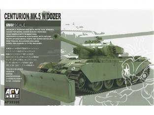 AFV CLUB maquette militaire 35106 CENTURION MK.V avec lame dozer 1/35