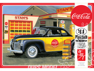 AMT maquette camion 1197 Plymouth Coupe Coca-Cola 1941 1/25