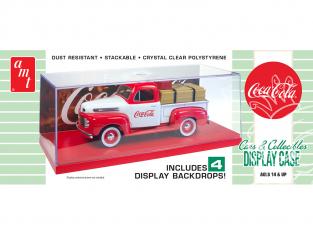 AMT 1199 Boite vitrine Coca Cola voiture non inclus 1/25