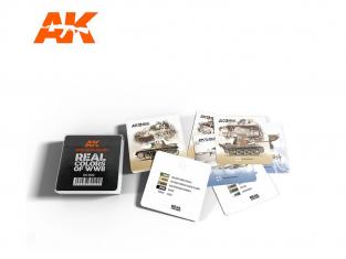 AK interactive rc700 Dessous de verre Real Colors