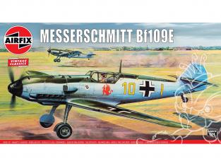 AIRFIX maquettes avion A12002V Messerschmitt BF109E 1/24