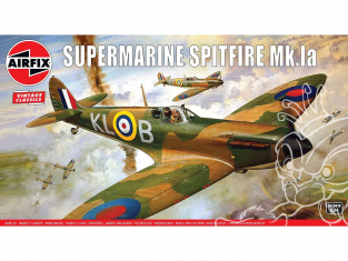 AIRFIX maquettes avion 12001v Supermarine Spitfire MkIa 1/24