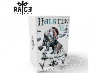 Ak Interactive figurine RAGE001 Halsten - Wolf noise 90mm